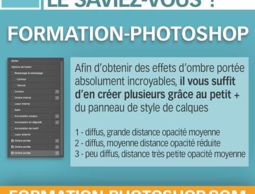 astuce photoshop ombre portée