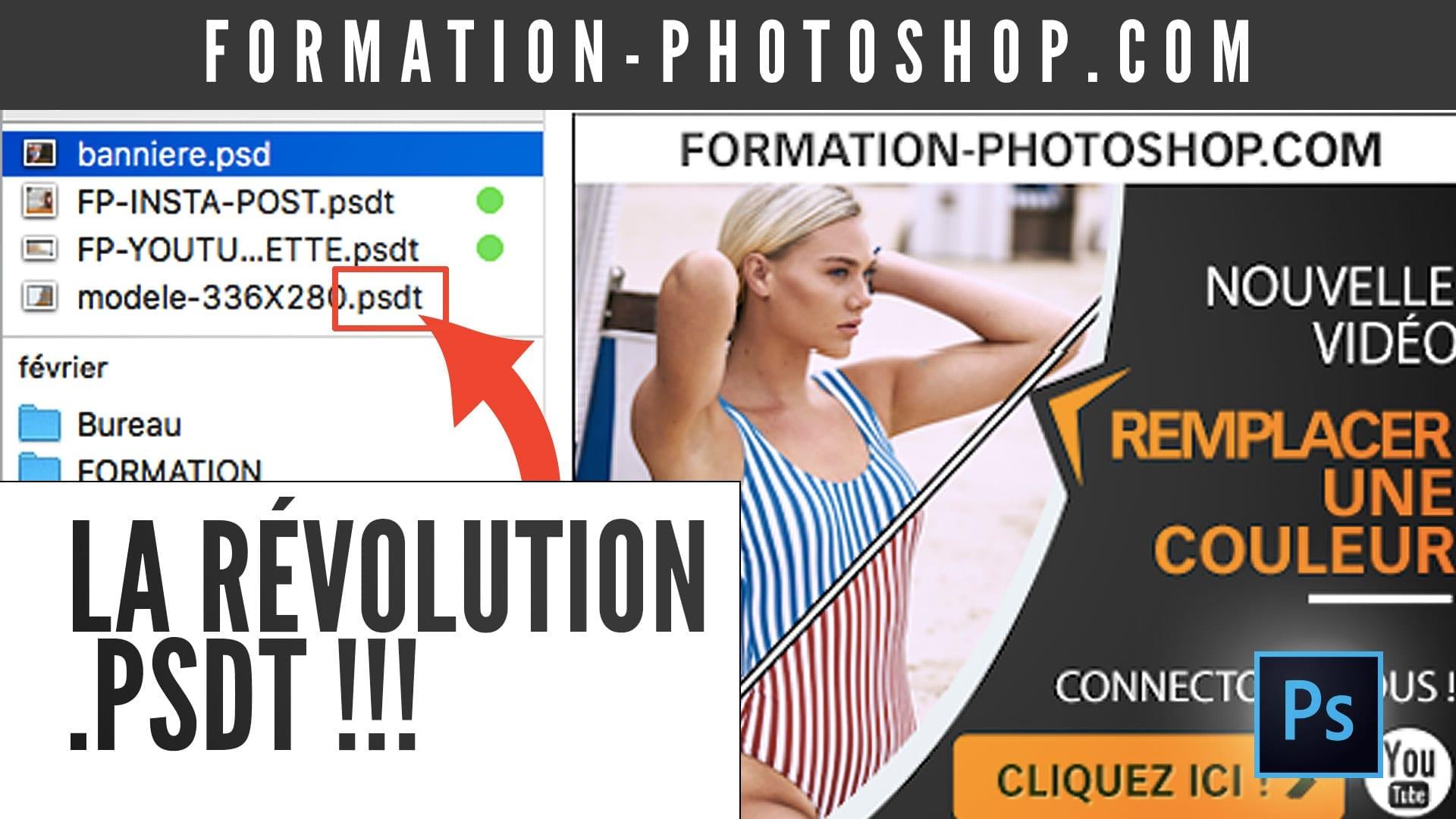 Les fichiers PSDT de Photoshop